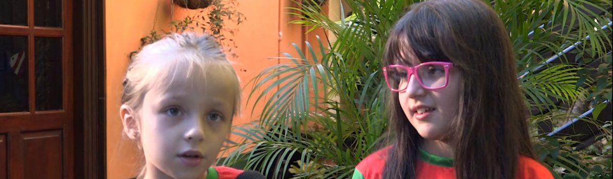 Rainbow News interviews some students